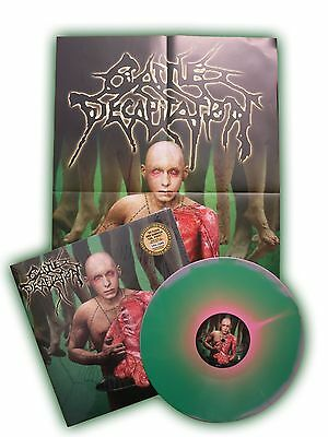 CATTLE DECAPITATION To Serve Man Vinyl COLOR IN COLOR LP [Limited: 300] + Poster