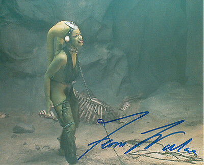 Femi Taylor In Person Signed Photo - B344 - Oola - Star Wars