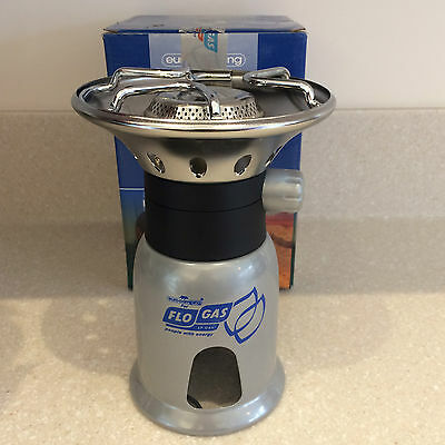 Single Burner Camping Stove Portable Gas Cooker Outdoor Cooking Fishing