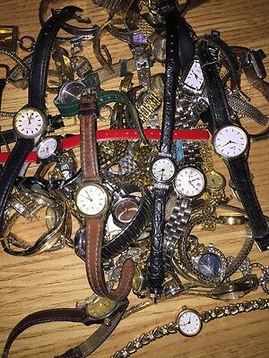 Watches Ladies Job Lot 200Spares Or Repair Only
