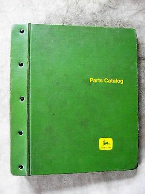 John Deere A AR AO Styled + Unstyled Tractor Part Catalog Manual Green JD Binder