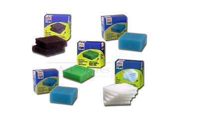 Juwel Compact Aquarium Filter Sponges, Set of 5(Nitrate, Fine, Carbon,Poly Pads