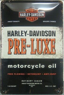 Harley Davidson  Dre Luxe  Motorcycle oil  30 x 20 cm