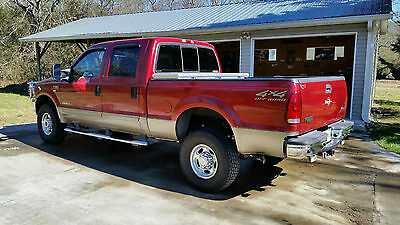 2002 Ford F-350 LARIAT 2002 f-350 Super Duty 4x4 SRW CrewCab Lariat 7.3 PowerStroke Never Off Roaded