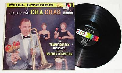 TOMMY DORSEY Orchestra feat Warren Covington Tea For Two Cha Chas LP Vinyl Latin
