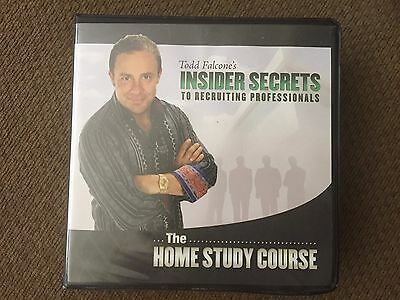 Todd Falcone Insider Secrets To Recruiting Professionals 18 CD Business Finance