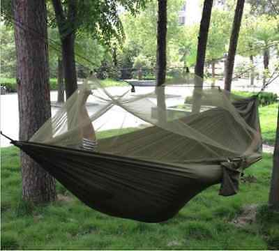 High Strength Parachute Material Olive Hammock for Hiking Bush Craft & Survival