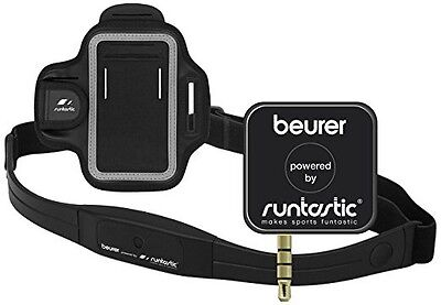 Beurer Runtastic PM200 Plus Heart Rate and GPS Runners Kit for Smartphones - 2.8