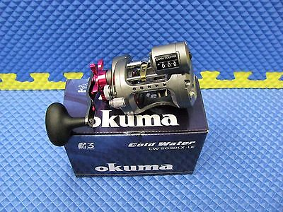 Okuma Cold Water Trolling Line Counter Reel Ladies Edition (LH) CW-203DLX-LE