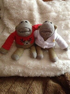 Monkey From Pg Tips X2