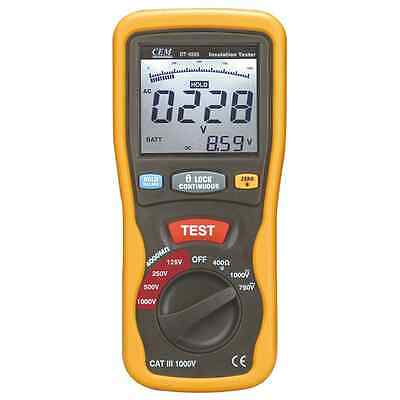 CEM DT-5505 Digital Insulation Tester **CLEARANCE**
