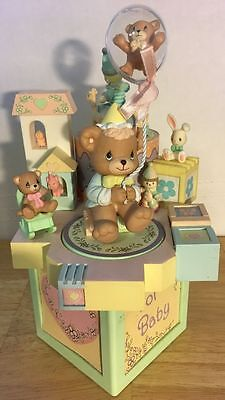 """Baby's Precious Moments Multi Action Musical """"somewhere Over The Rainbow"""" (Fh1-G"""