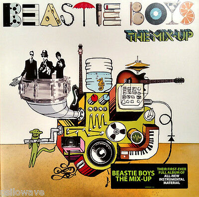Beastie Boys The Mix Up Gatefold Vinyl LP New & Sealed 2007