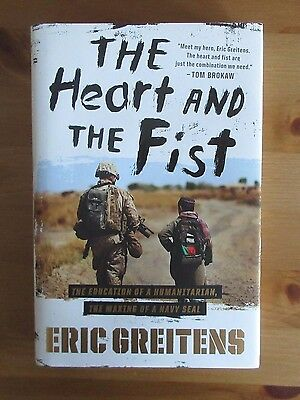 signed SEAL BOOK ERIC GREITENS