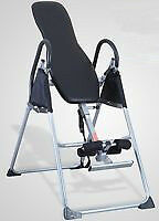 Black Inversion Table For Chiropractic Back Pain Relief
