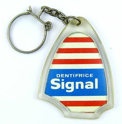 Porte Cles Publicitaire Keychain Dentifrice Signal