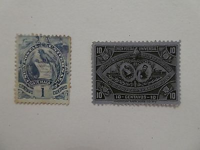 Guatemala early stamps