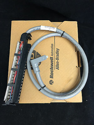 Allen Bradley 1492 - Cable 40 Point Interface Pre-wired for 1771 1.0M Long NIB!