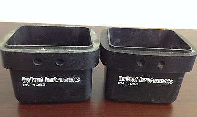 Set of 2 DuPont Instruments Buckets PN 11053