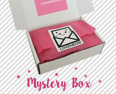 Kawaii Box - A Box Full of Kawaii Stationery, Plush Toys, Accessories and More!