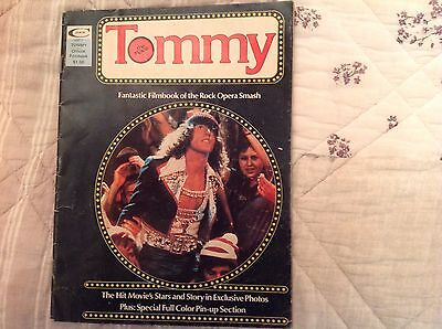 Tommy The Official Filmbook 1975 Ex Condition