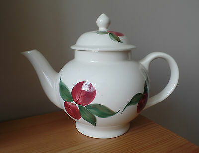 Emma Bridgewater Pottery - Family Sized Teapot - Red Plum - 2000