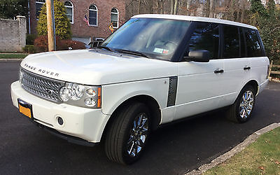 2007 Land Rover Range Rover Supercharged 2007 Land Rover Range Rover Supercharged. Excellent condidion. Low mileage.