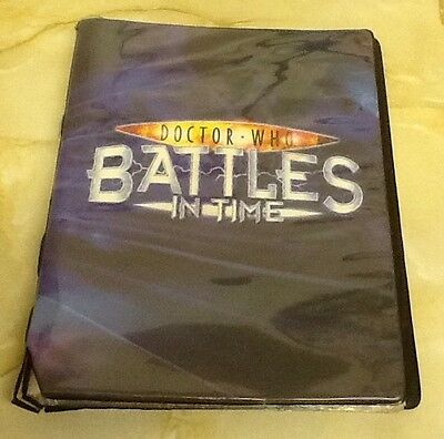 Doctor Who Battles In Time Trading Card Large Bundle & Folder