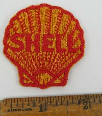 SHELL 1950s Patch NOS New Old Stock GAS OIL SERVICE STATION