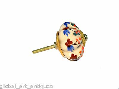 Beautiful Ceramic Vintage Style Decorative Drawer/Wardrobe/Door Knobs. G16-38