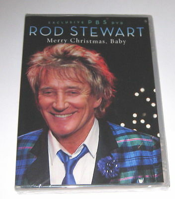 Rod Stewart: Merry Christmas Baby Dvd, Very Rare Pbs Special, 2012 +Mary J Blige
