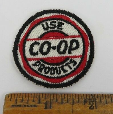 CO-OP 1950s Patch NOS New Old Stock unused GAS OIL SERVICE STATION Petroliana