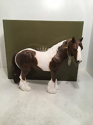 Country Life Large Brown Cob Horse Figurine Ornament *BRAND NEW BOXED*