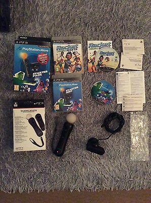 PlayStation Move Starter Pack for PS3 & PS4 VR - Motion Controller  Eye Cam