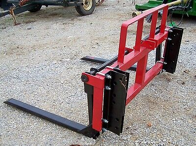 New TRI Universal Mount Front Pallet Forks For Loaders. Can ship cheap!
