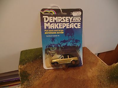 rainbow toys dempsey & makepeace  ford  escort cabriolet 1.6i mint on card