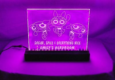 Power Puff Girls Custom Light (Multiple Colours Available)