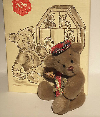 Hermann Original Miniature Bear 'Campbell McTavish' Signed Paw Limited Edition