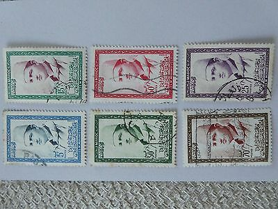 Morocco small collection 1956 stamps