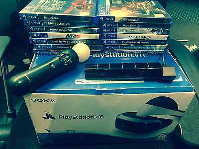 Sony Playstation 4 VR Bundle Pack