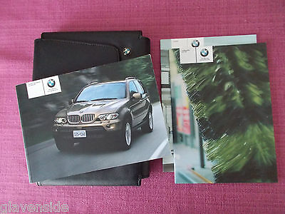 Bmw X5 (2003 - 2006)  Owners Handbook - Owners Manual - Owners Guide (Bm 503)