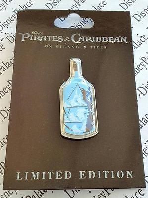 Disney DSF POTC Pirates of the Caribbean 4 Black Pearl Ship in Bottle LE 300 Pin