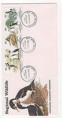 1983 Australia AAT Antarctic Territory REGIONAL WILDLIFE FDC First Day Cover
