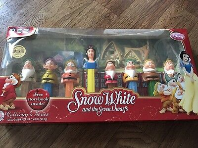 Disney's Snow White and the Seven Dwarfs PEZ Limited Edition Collector's Box Set