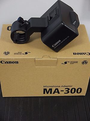 Canon MA-300 Dual XLR Microphone Adapter & Holder for GL-2/XL-2 Camcorders