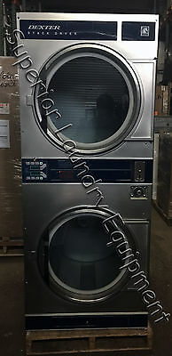 Dexter DL2X30QSS Stack Dryer, 30Lb, Coin, 120V, Gas, Reconditioned