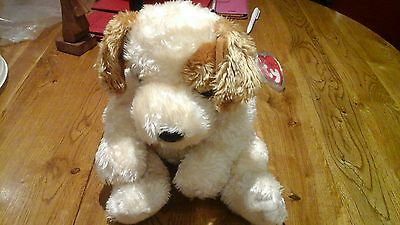 TY Beanie Classic Scraps the mischievous puppy 17 inches