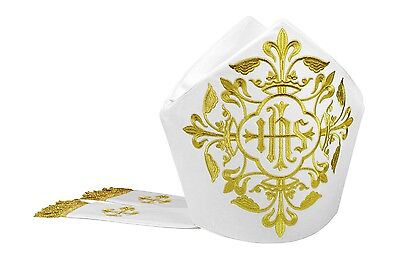 Mitra, Mitre,Kasel,Messgewand,Casule, Chasuble, Vestment M7-ABA