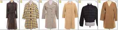 JOB LOT OF 7 VINTAGE WINTER  COATS- Mix of Era's, styles and sizes (18206)