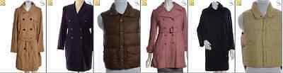 JOB LOT OF 9 VINTAGE WINTER COATS- Mix of Era's, styles and sizes (18199)